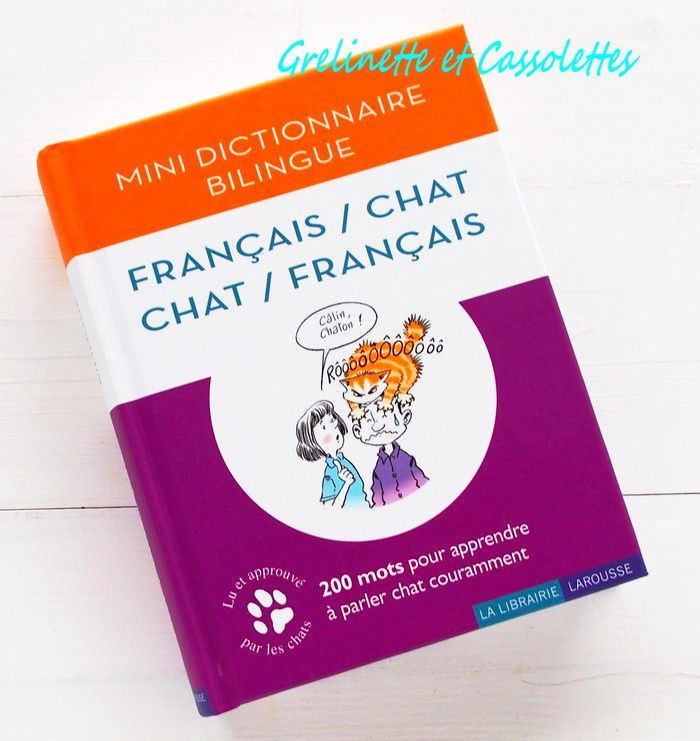 Dictionnaire Bilingue Français / Chat