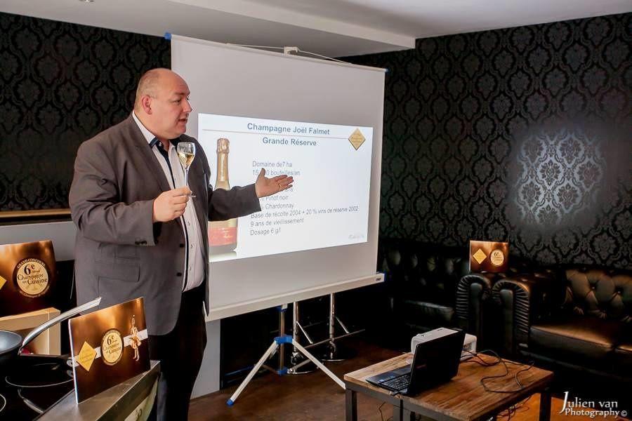 Geoffrey Orban, Ambassadeur du Champagne