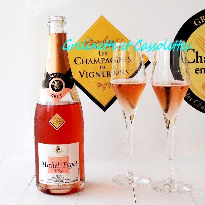 Je remporte la Demi Finale du Concours Champagne en Cuisine avec les Champagnes de Vignerons à Troyes