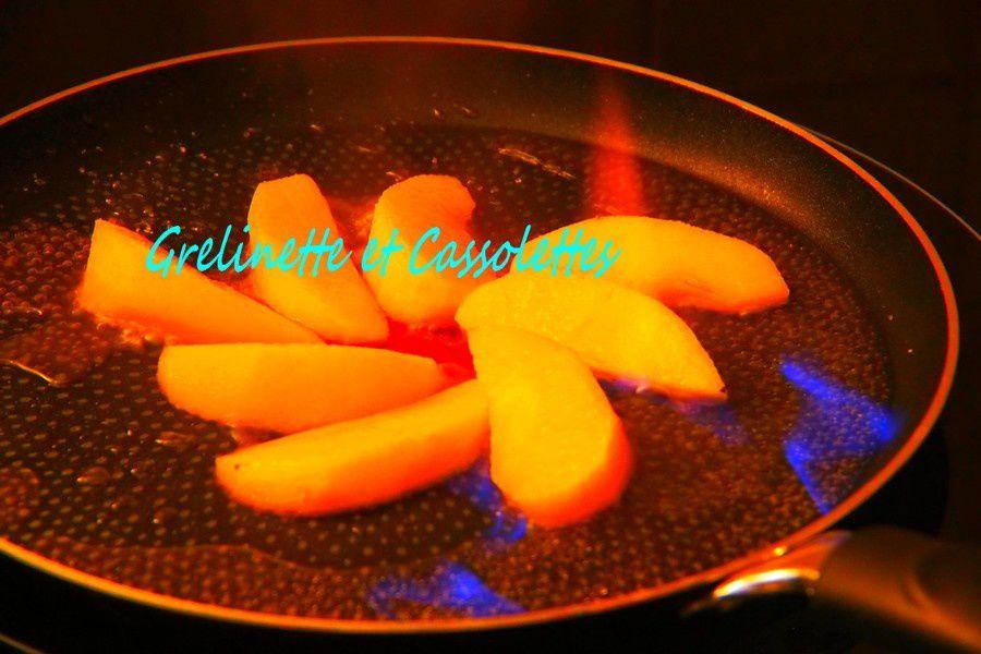 Crêpes aux Pommes Juliet Option Calvados