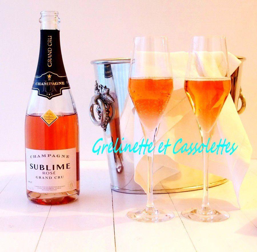 Saint Valentin : Champagne !