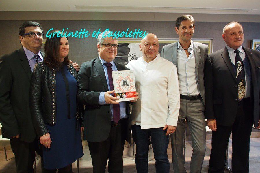 Thierry Marx et Bernard Thomasson remportent le Prix 2016 des Ecrivains Gastronomes