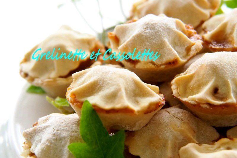 Mini Apple Pies au Calvados