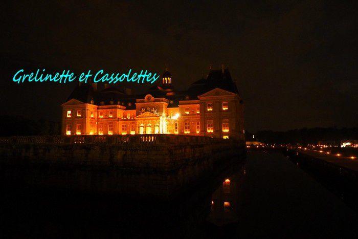 Soirée aux Chandelles au Château de Vaux le Vicomte