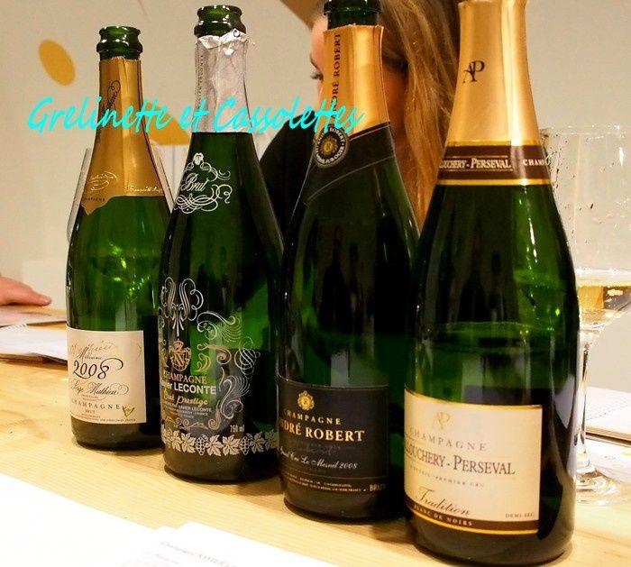 Master Class d'Oenologie Accords Mets et Champagne (à gagner pour deux, ça vous tente ?)