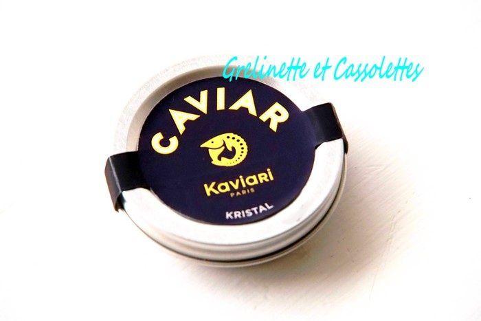 Saint Jacques et Caramel d'Orange, Carambole et Caviar Kaviari