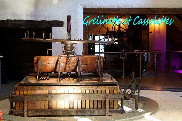 Dans le Musée, outils et pressoirs font remonter le temps...