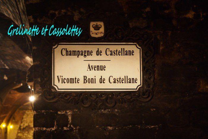 Visite de Caves : Champagne de Castellane, Epernay