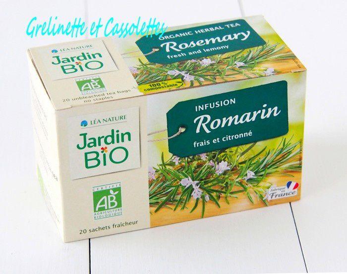 Organic Herbal Tea : Rosemary
