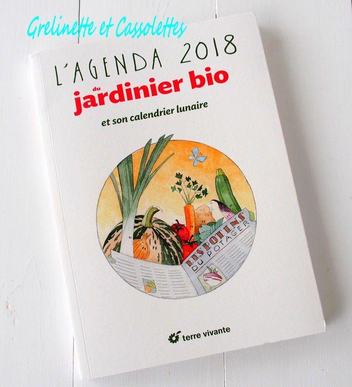 Les Potins du Potager : l'Agenda 2018 du jardinier Bio
