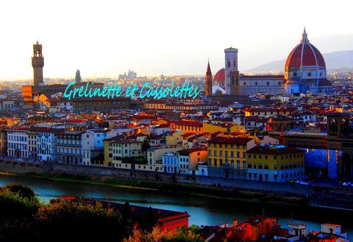 Firenze 7, Sunset sur l'Arno, Romantique à souhait, Piazzale Michelangelo