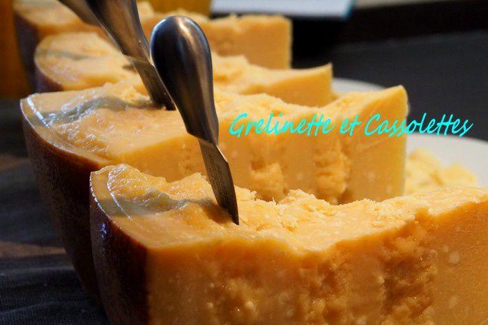 Crème de Panais au Parmigiano Reggiano