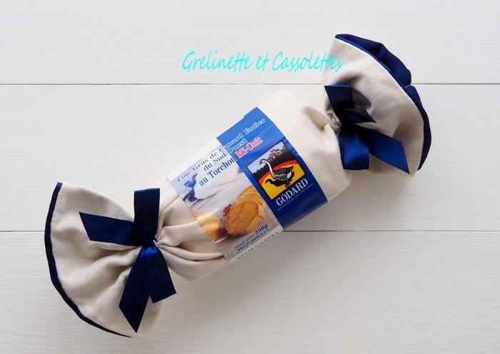Foie Gras Godard Mi Cuit aux Pommes compotées, au Pamplemousse, et servi à l'Assiette