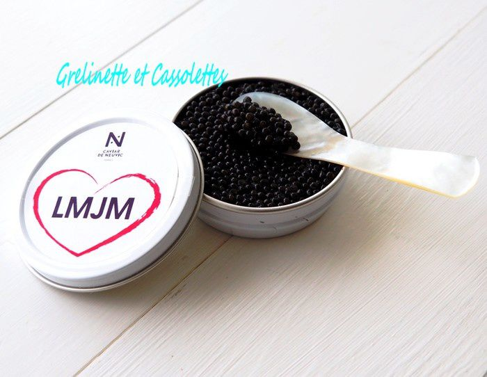 Saint Valentin : Dites le avec du Caviar... Personnalisé !