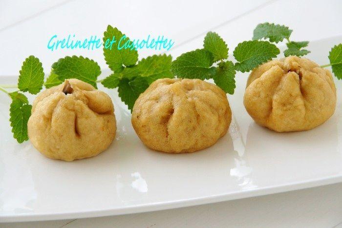 Banh Bao (Brioches fourrées Vapeur) au Poulet