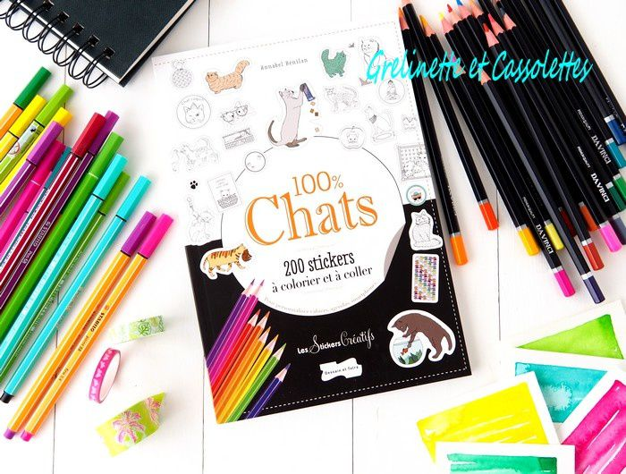 100 % Chats 200 Stickers
