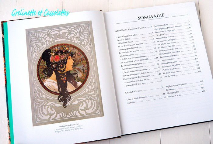 Alfons Mucha, par Valérie Mettais, éditions Larousse