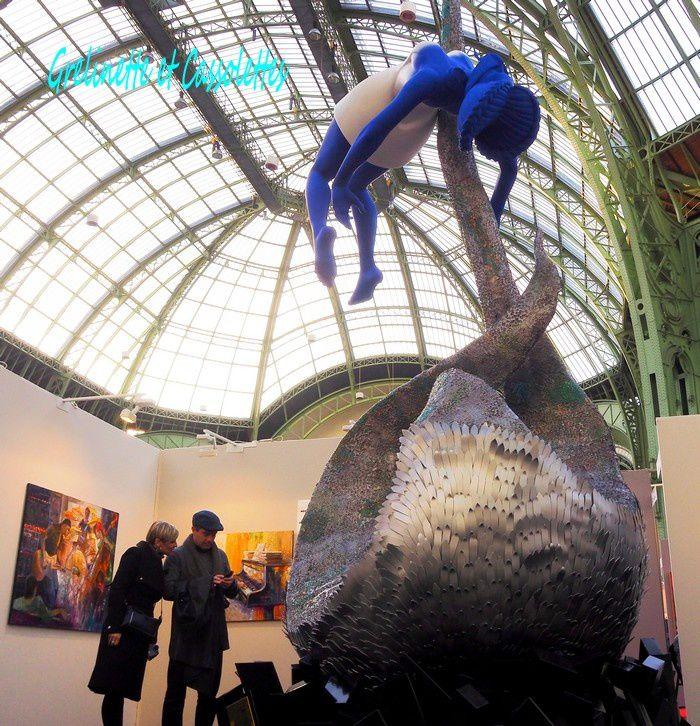 Le Salon des Artistes Français au Grand Palais