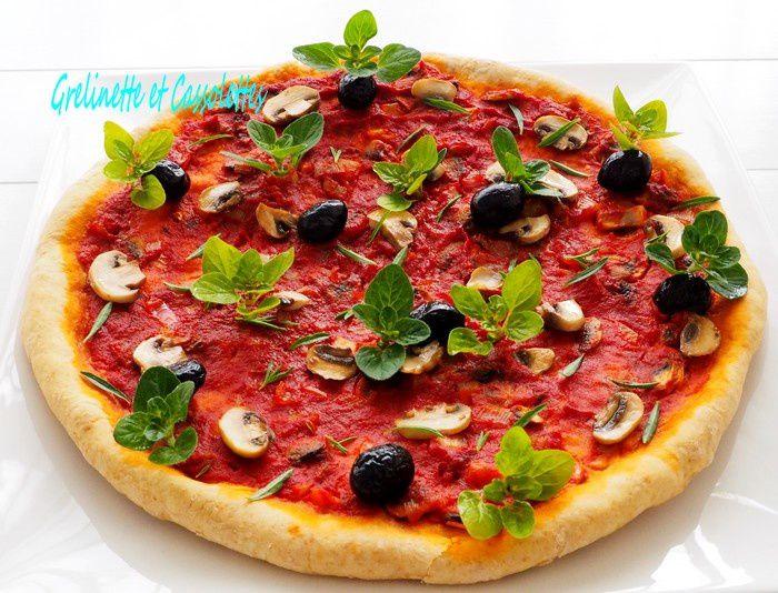 Pizza d'Avant Tomates, à l'Origan