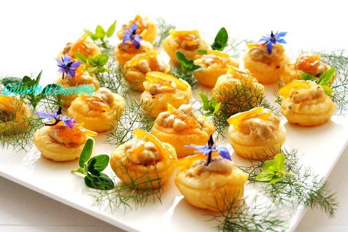 Tartelettes de Mousse d'Artichaut à la Truffe d'Eté