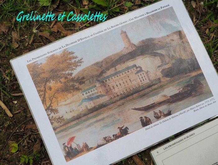 Le sublime et merveilleux Jardin Anglais du Château de La Roche-Guyon