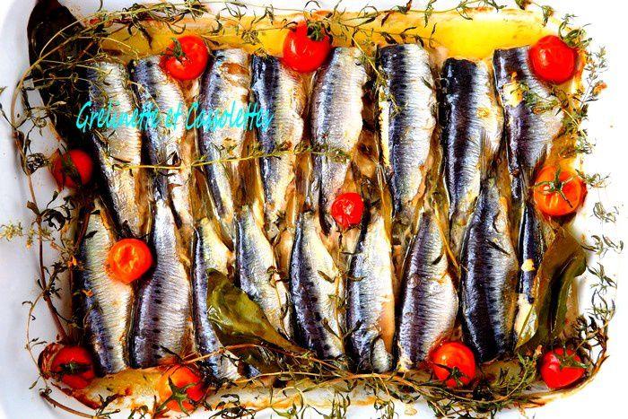 Sardines à la Provençale