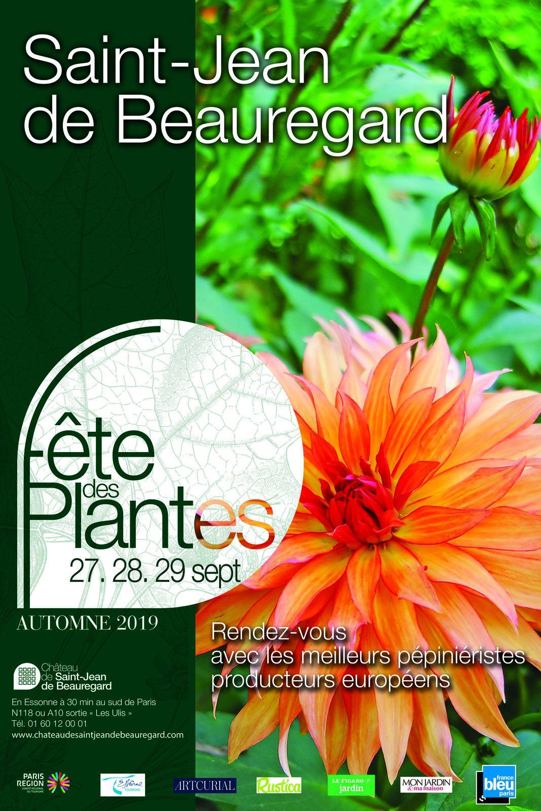 Fête des Plantes d'Automne de Saint Jean de Beauregard, 35 eme anniversaire
