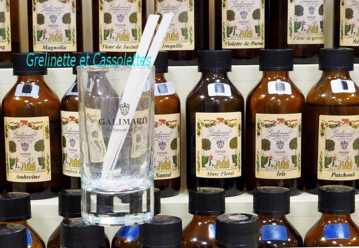 J'ai créé mon propre parfum... Studio des Fragrances Galimard à Grasse