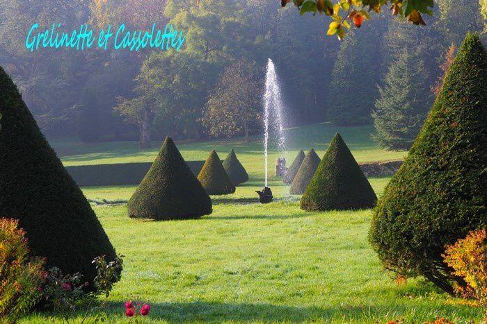 L'Orangerie du Château d'Etoges, Aquarelle