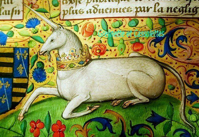 Dame Licorne... La collection Chourses Coetivy au Cabinet des Livres du Château de Chantilly