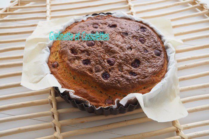 Gâteau à la Farine de Patate Douce, aux Noisettes et aux Cranberries, Sans Gluten