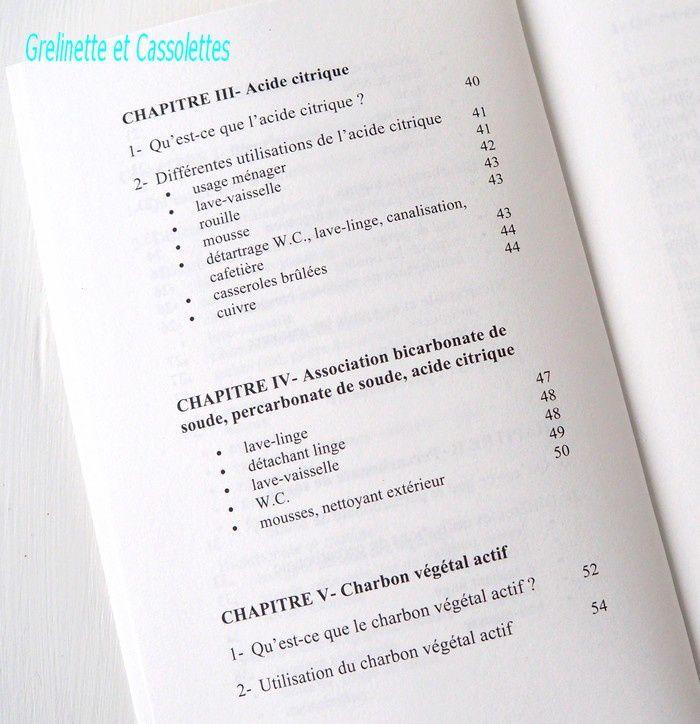 Les Bonnes Utilisations du Bicarbonate, du Percarbonate, de l'Acide Citrique et du Charbon Végétal... Martine Esnault