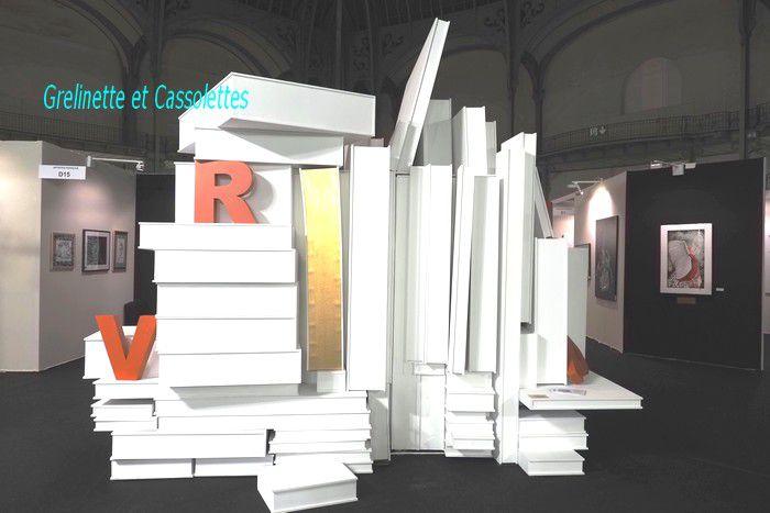 Babel Réinventée, Louise Gaggini au Salon des Artistes Français, au Grand Palais