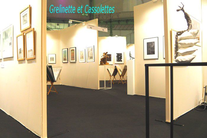 Encore un peu du Salon des Artistes Français, Art Capital, Grand Palais 2020