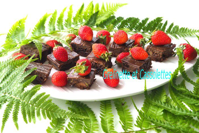 Gâteau au Chocolat à la Courgette, sans farine, sans beurre, sans gluten