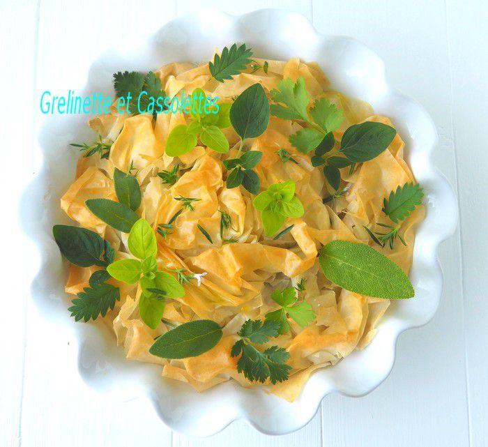 Ma Pastilla de Poulet, Noisettes et petits Légumes