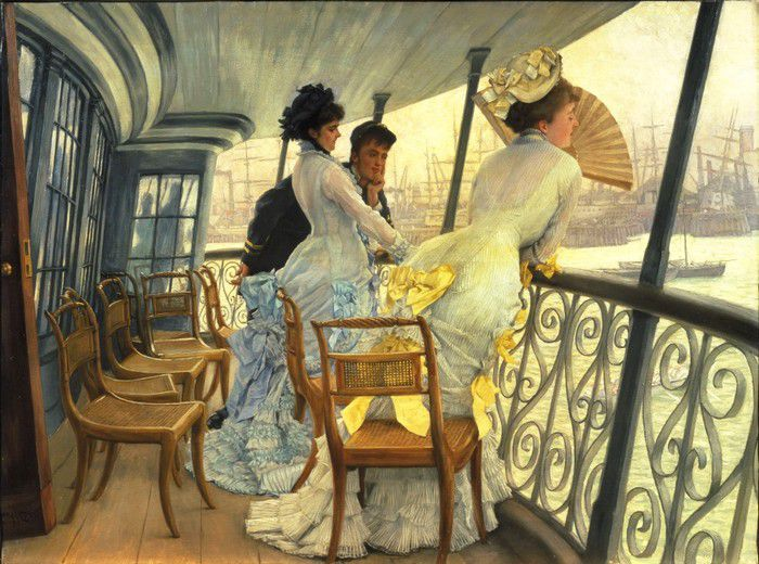 Pont du HMS, Calcutta, James Tissot