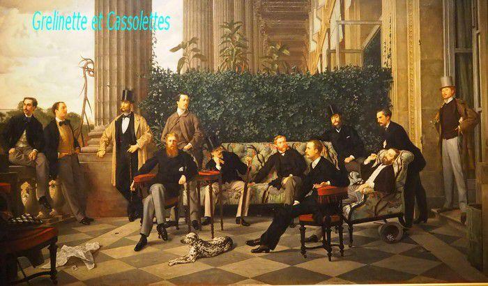 Le cercle de la Rue Royale, James Tissot, 1866