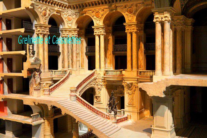 Un Air d'Opéra Garnier, Maquettes au Musée d'Orsay