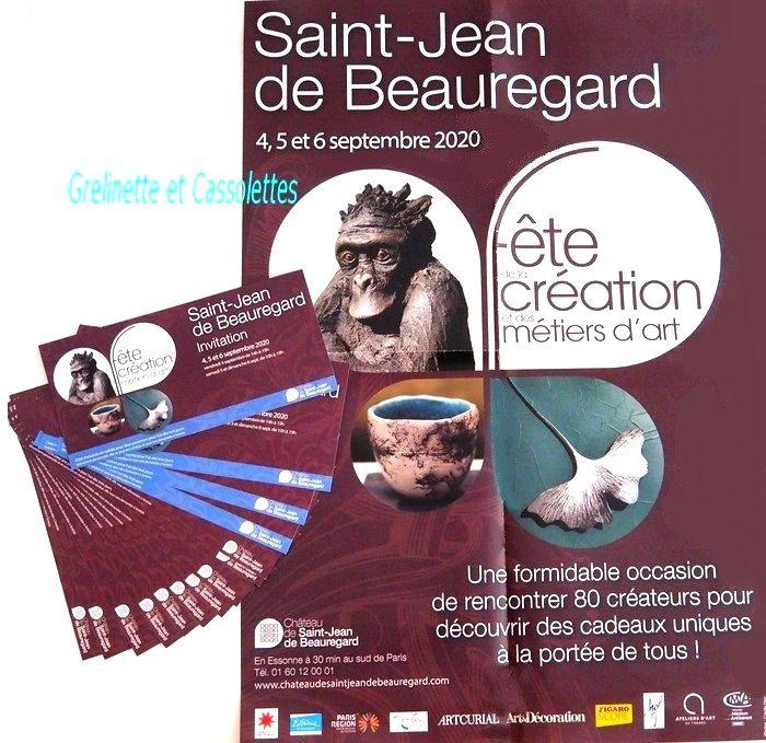 Fête de la Création et des Métiers d'Art de Saint Jean de Beauregard : Jeu pour Gagner ses Entrées Gratuites