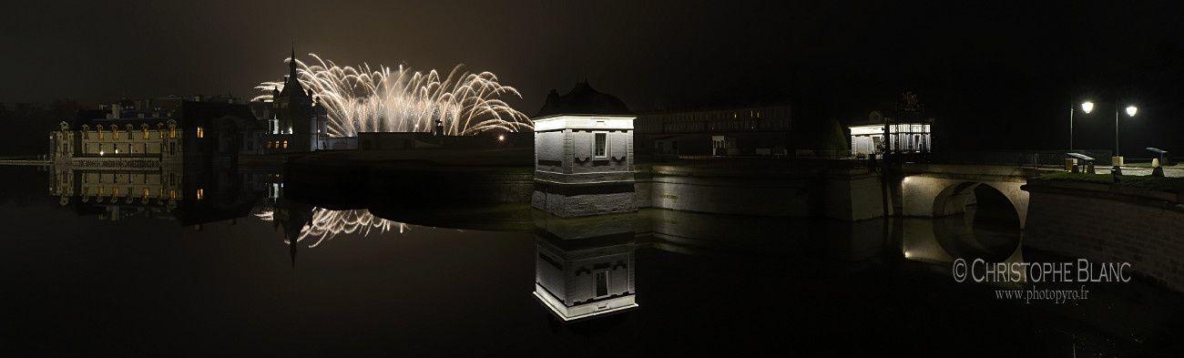 Soirée au Château de Chantilly