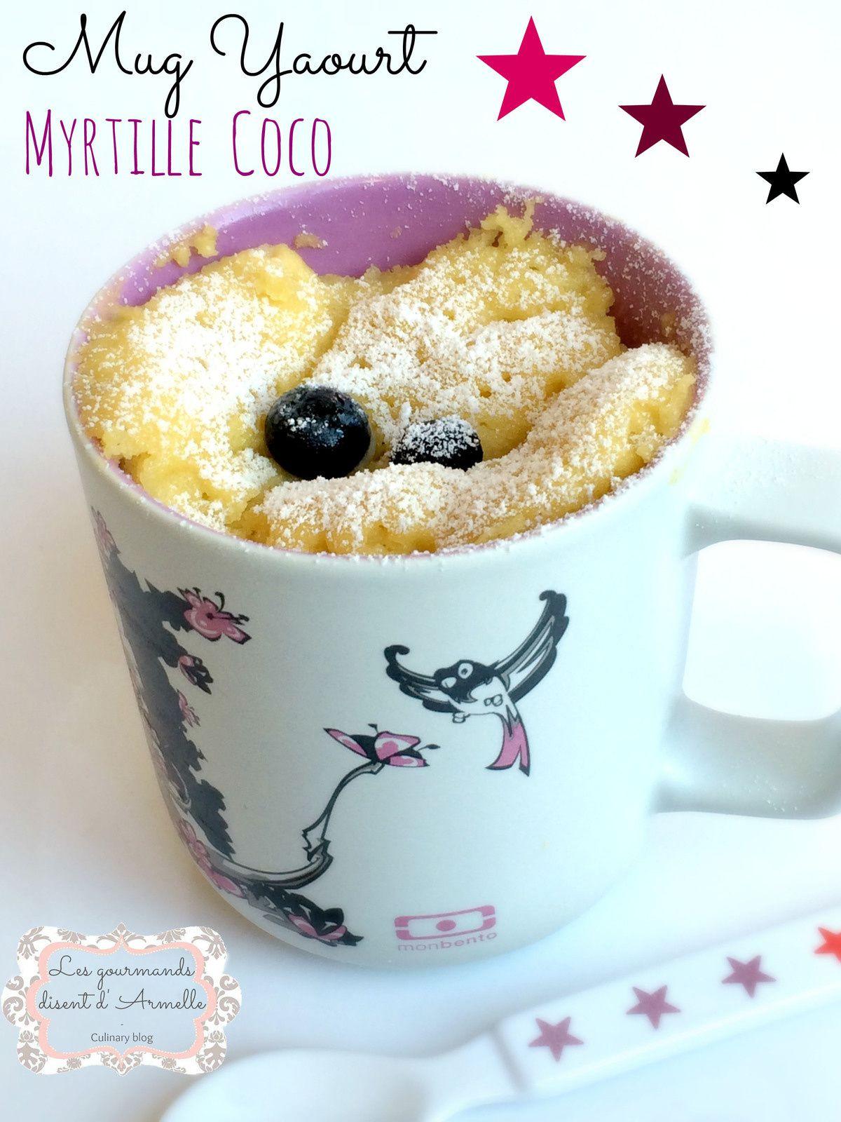 Mug Yaourt Myrtille Coco
