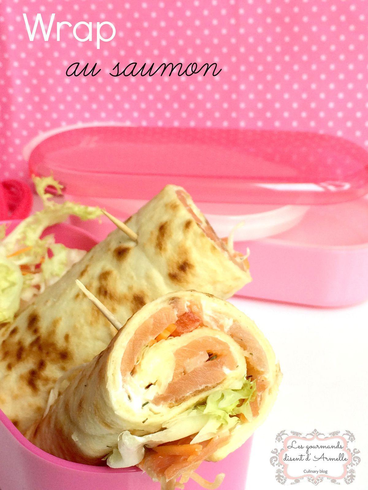 | Wrap au saumon |