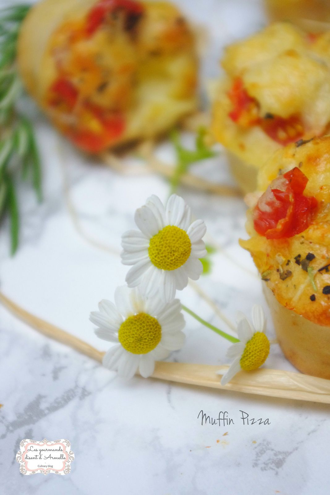 | Muffin pizza | © Les Gourmands {disent} d'Armelle