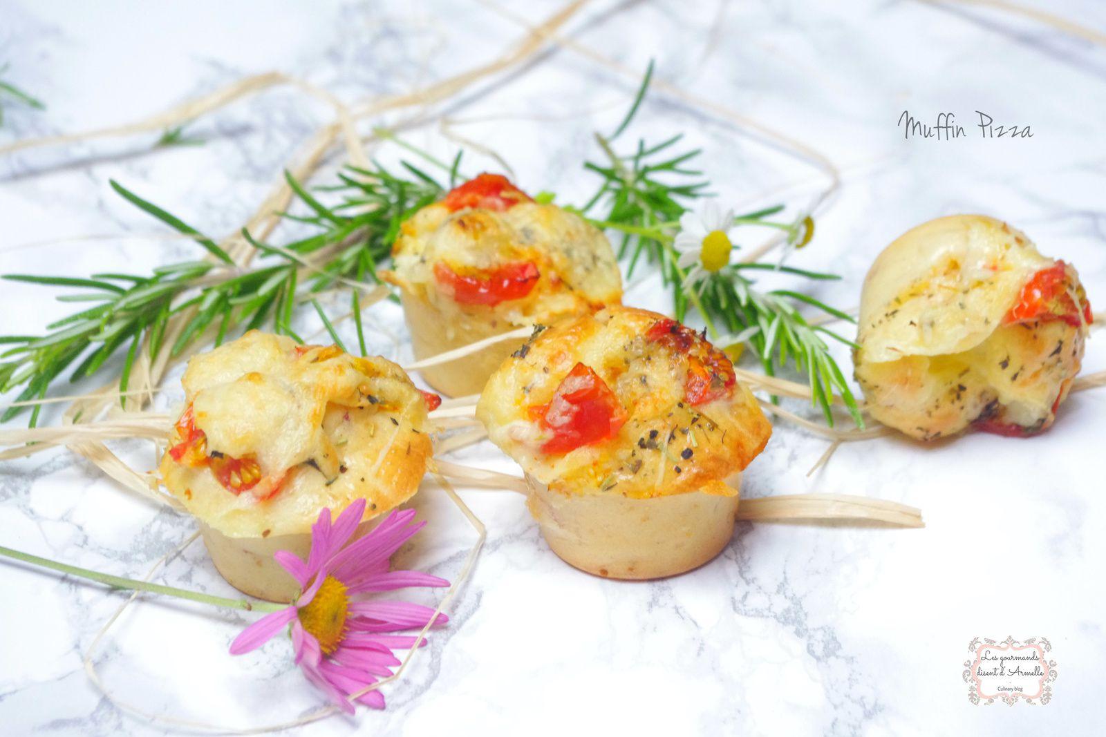   Muffin pizza   © Les Gourmands {disent} d'Armelle