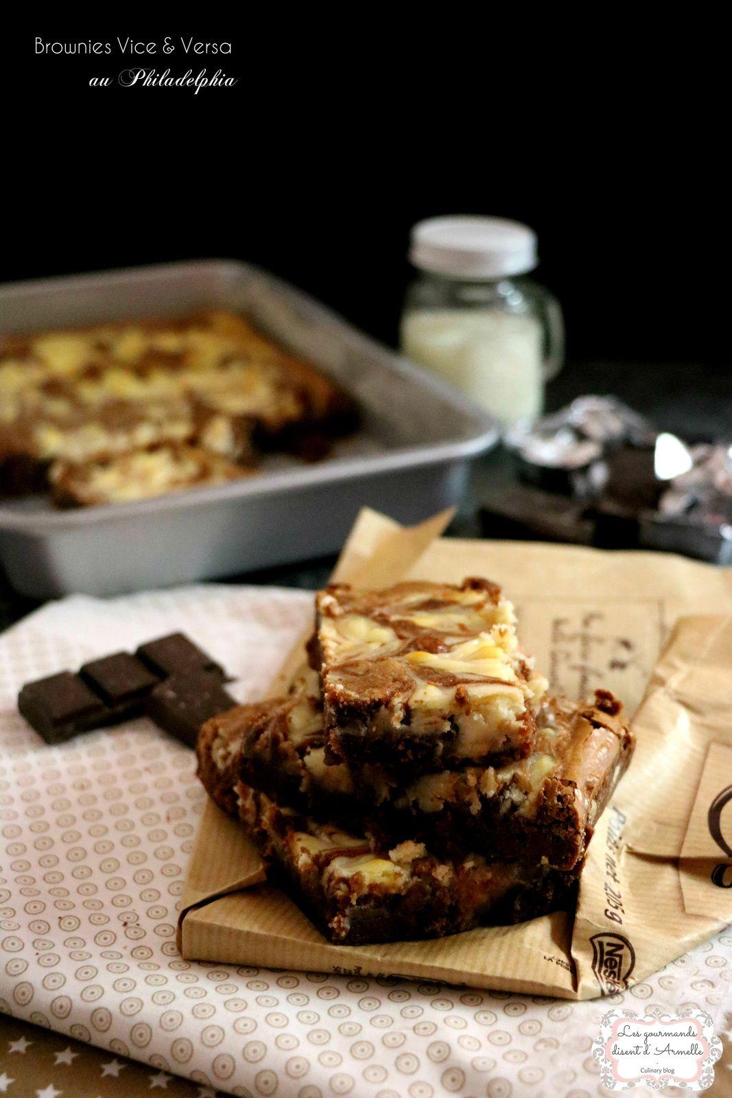 Brownies Vice & Versa au Philadelphia  © Les Gourmands disent d'Armelle