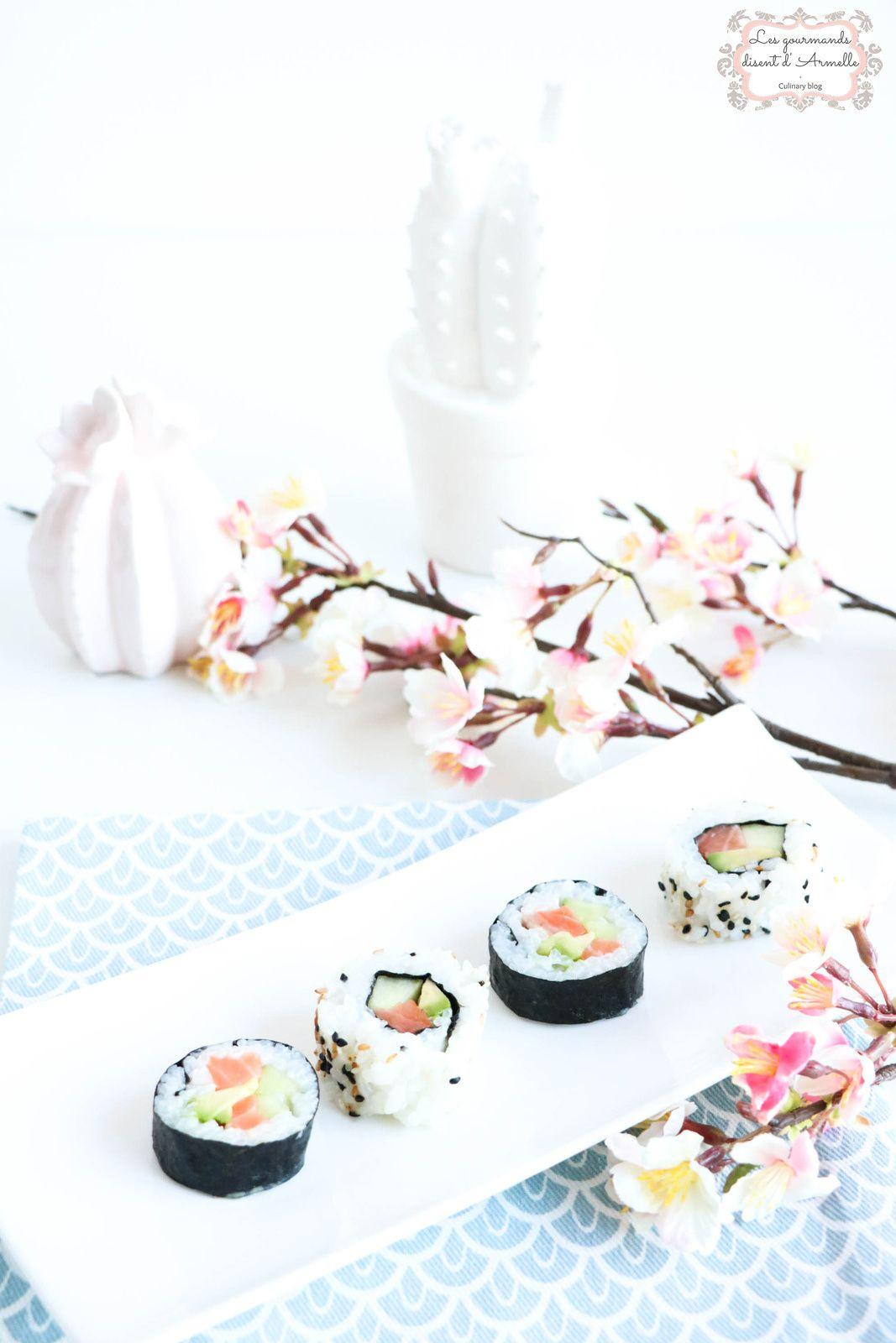 Makis et Makis Sushi Californien | California Rolls © Les Gourmands {disent} d'Armelle