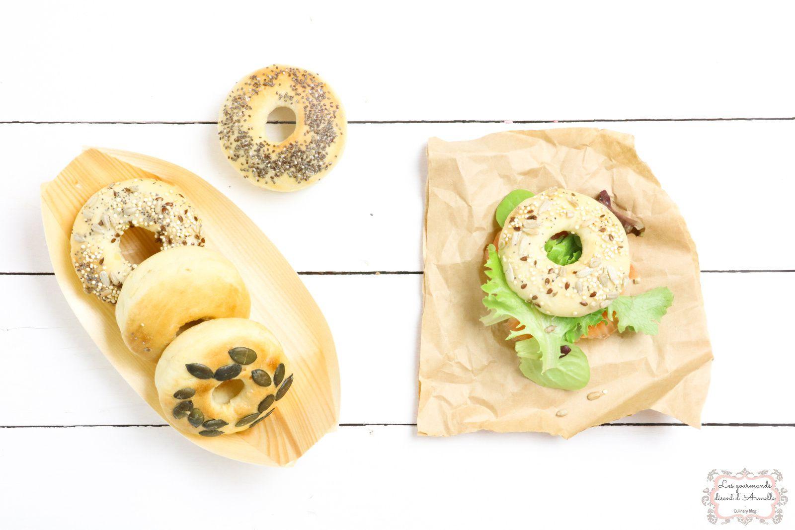 Bagels nordiques  @ Les Gourmands {disent} d'Armelle
