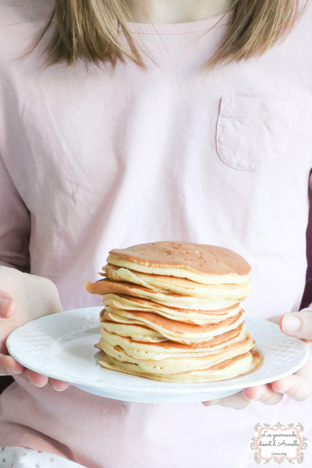 Pancakes américains bien fluffy @ Les Gourmands {disent} d'Armelle