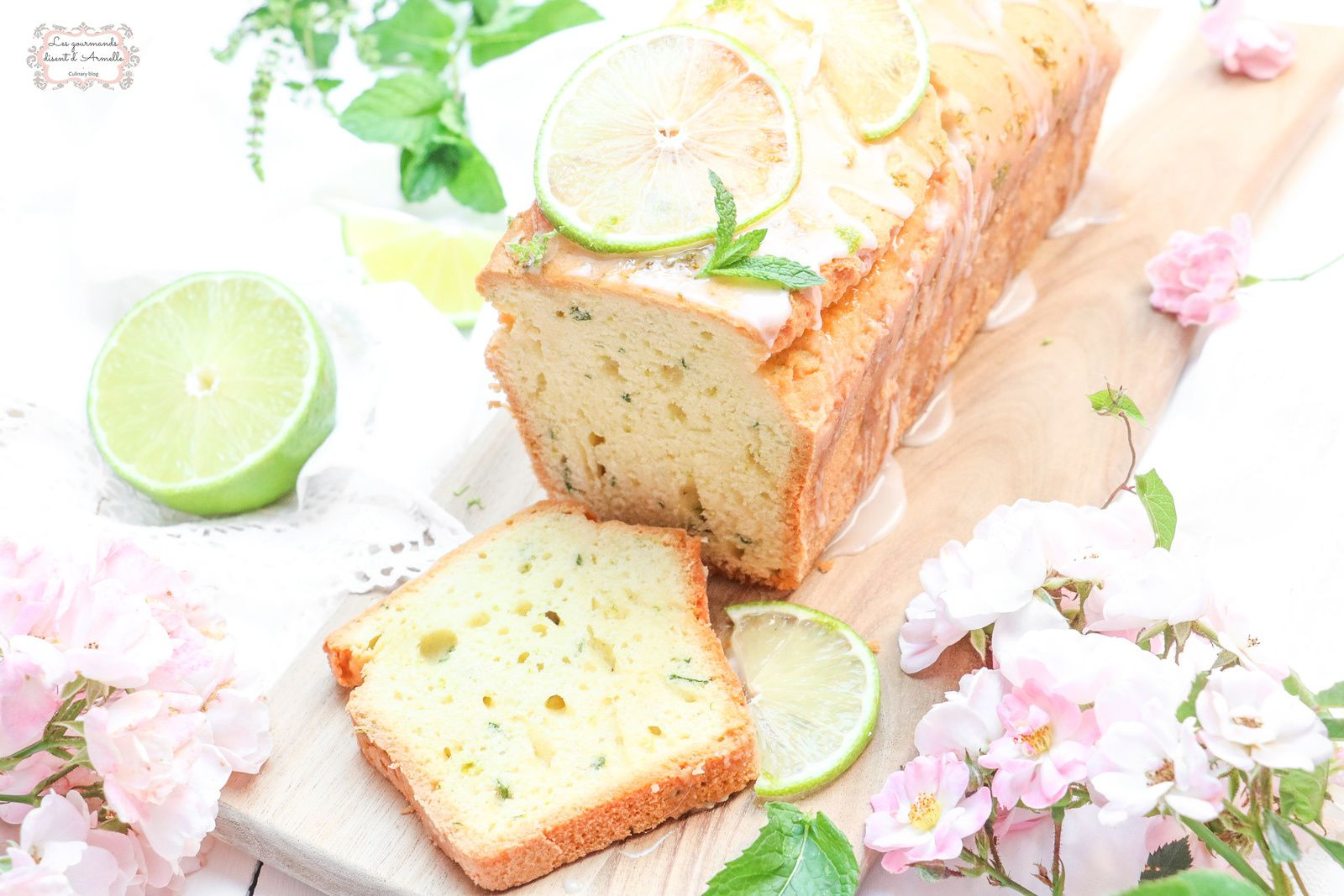 Cake Mojito @ Les gourmands {disent} d'Armelle